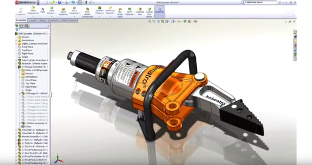 SolidWorks First Look
