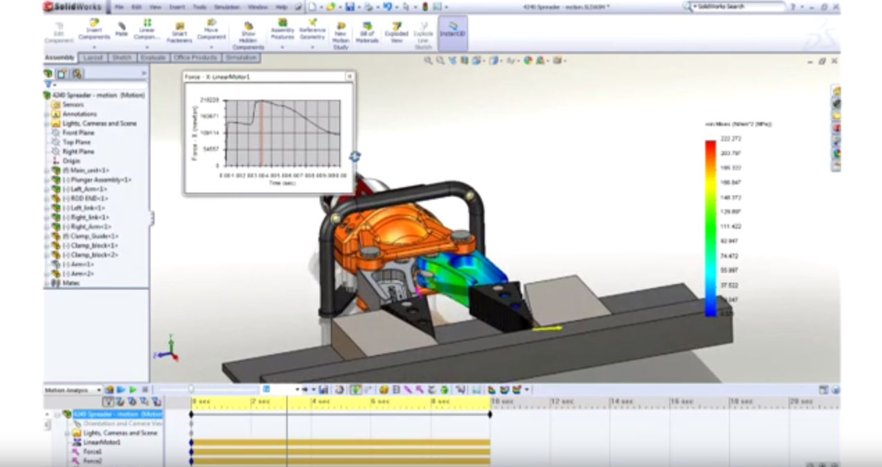 SolidWorks Simulation First Look