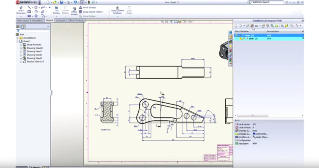 SolidWorks EPDM First Look