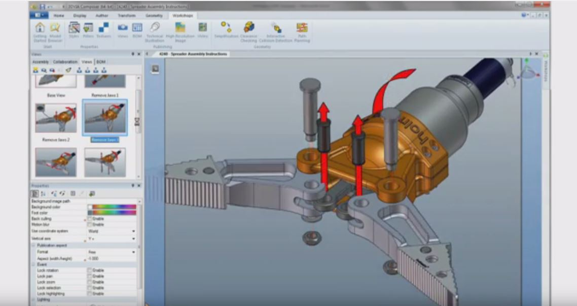 SolidWorks Composer First Look