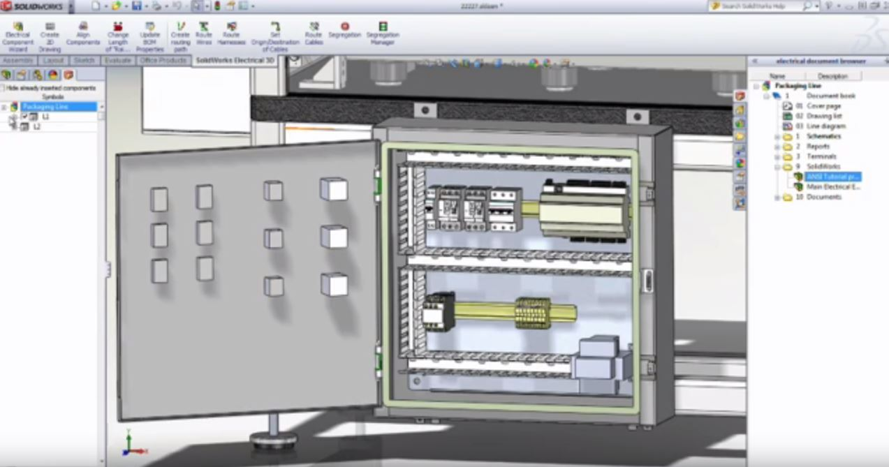 SolidWorks Electrical3D First Look