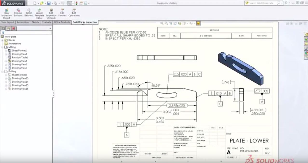SolidWorks Inspection First Look